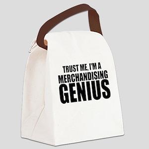 Trust Me, I'm A Merchandising Genius Canvas Lu