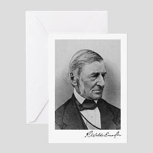 Ralph Waldo Emerson Greeting Card