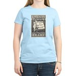 1902 New Years Greeting Women's Light T-Shirt