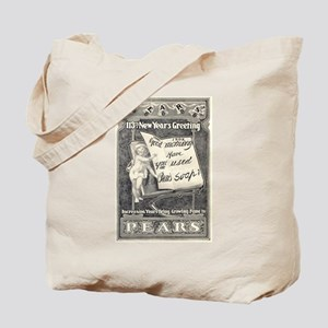 1902 New Years Greeting Tote Bag