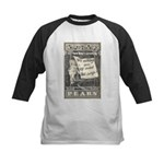 1902 New Years Greeting Kids Baseball Jersey