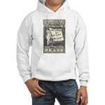 1902 New Years Greeting Hooded Sweatshirt