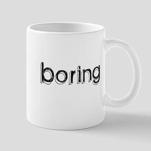 Boring Mug