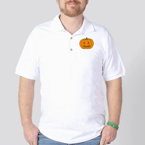Jack O Lantern Golf Shirt