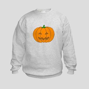 Jack O Lantern Kids Sweatshirt