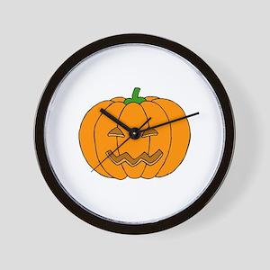 Jack O Lantern Wall Clock