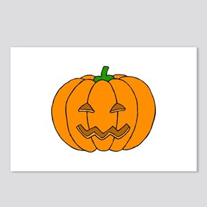 Jack O Lantern Postcards (Package of 8)
