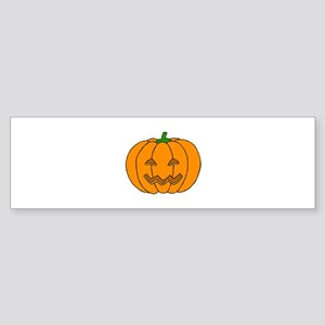 Jack O Lantern Bumper Sticker