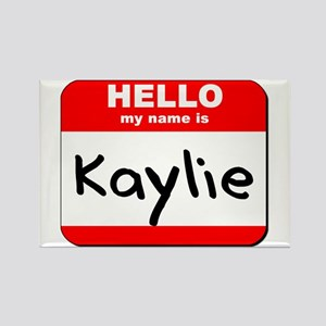 Hello my name is Kaylie Rectangle Magnet