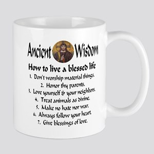 How to live a blessed life Mug