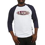 Up North Nortwoods Snowmobiler Baseball Jersey