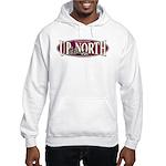 Up North Nortwoods Snowmobiler Hooded Sweatshirt