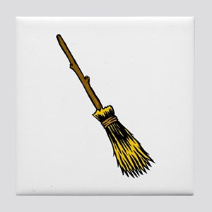 Besom/Broom Tile Coaster