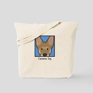 Anime Carolina Dog Tote Bag (Cartoon)