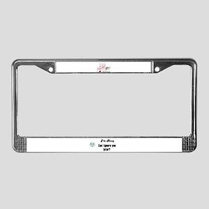 BINGO LOVE License Plate Frame