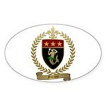 FORAND Family Crest Oval Sticker