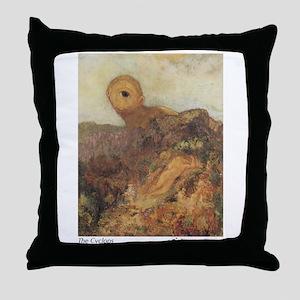 The Cyclops Throw Pillow