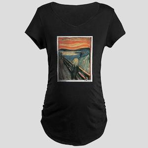 The Scream Maternity Dark T-Shirt