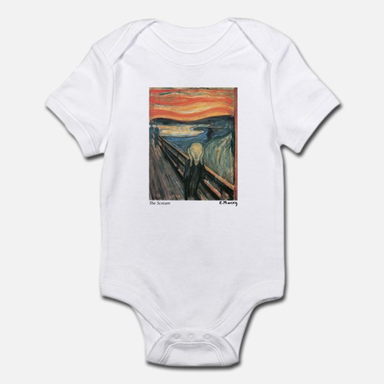 The Scream Infant Bodysuit