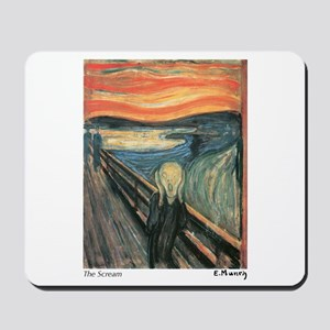 The Scream Mousepad