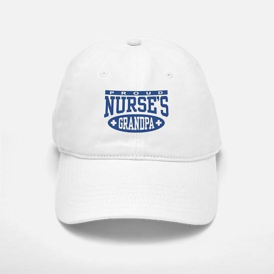 Proud Nurse's Grandpa Baseball Baseball Cap