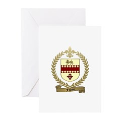 FILLION Family Crest Greeting Cards (Pk of 10)