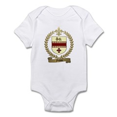 FILLION Family Crest Infant Creeper
