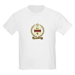 FILLION Family Crest Kids T-Shirt