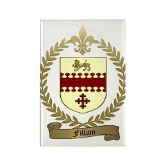 FILLION Family Crest Rectangle Magnet (100 pack)