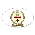 FILLION Family Crest Oval Sticker
