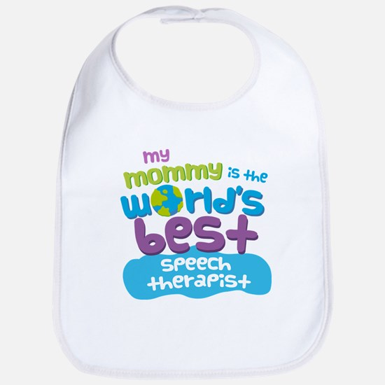 Speech Therapist Gift for Kids Baby Bib