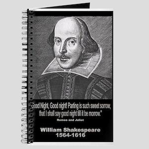William Shakespeare Quote Journal
