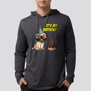It's My Birthday Mens Hooded Shirt