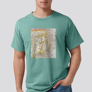 Vintage Map of The Outer Banks (1818) T-Shirt