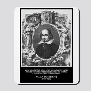 William Shakespeare Quote Mousepad