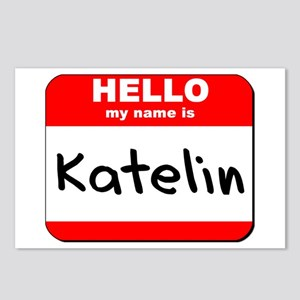 Hello my name is Katelin Postcards (Package of 8)