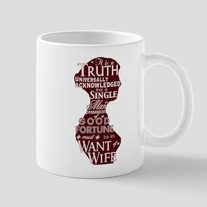Jane Austen Quote (Pink) Mug