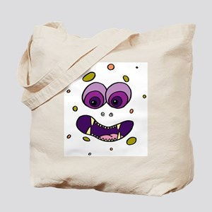 Monster Halloween Candy Tote Bag