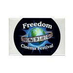 Freedom Rectangle Magnet (100 pack)