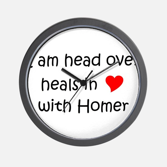 Funny Healing homes Wall Clock
