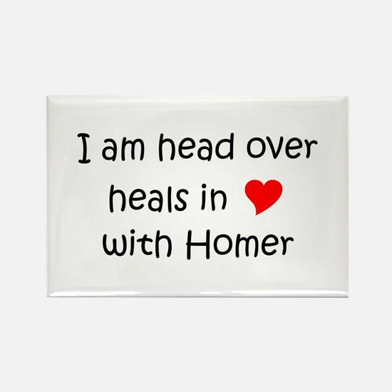 Cute Healing homes Rectangle Magnet
