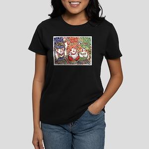 Float Throw Women's Dark T-Shirt