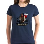 Under The Lone Star Logo Womens T-Shirt