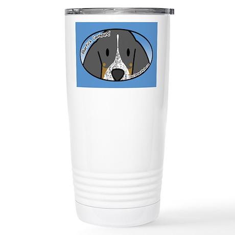 Anime Bluetick Coonhound Stainless Steel Travel Mu