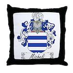 Micheli Family Crest Throw Pillow