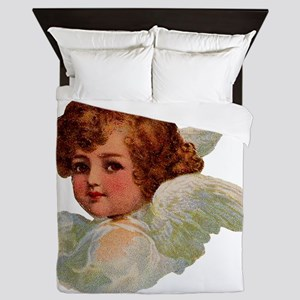 Angel illustration 14 Queen Duvet