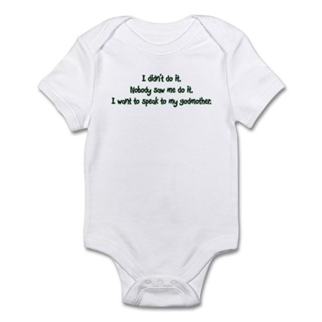 Want to Speak to My Godmother Infant Bodysuit