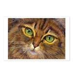 202 - Emerald Eyes Postcards (package Of 8)