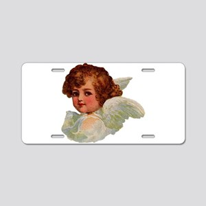 Angel illustration 14 Aluminum License Plate