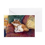 207 - Cat Beamer Greeting Cards